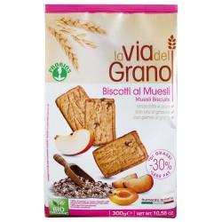 BISCOTTI AL MUESLI con germe di grano