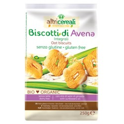 BISCOTTI ALL'AVENA INTEGRALE